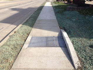 Sidewalk Bridge Inlet